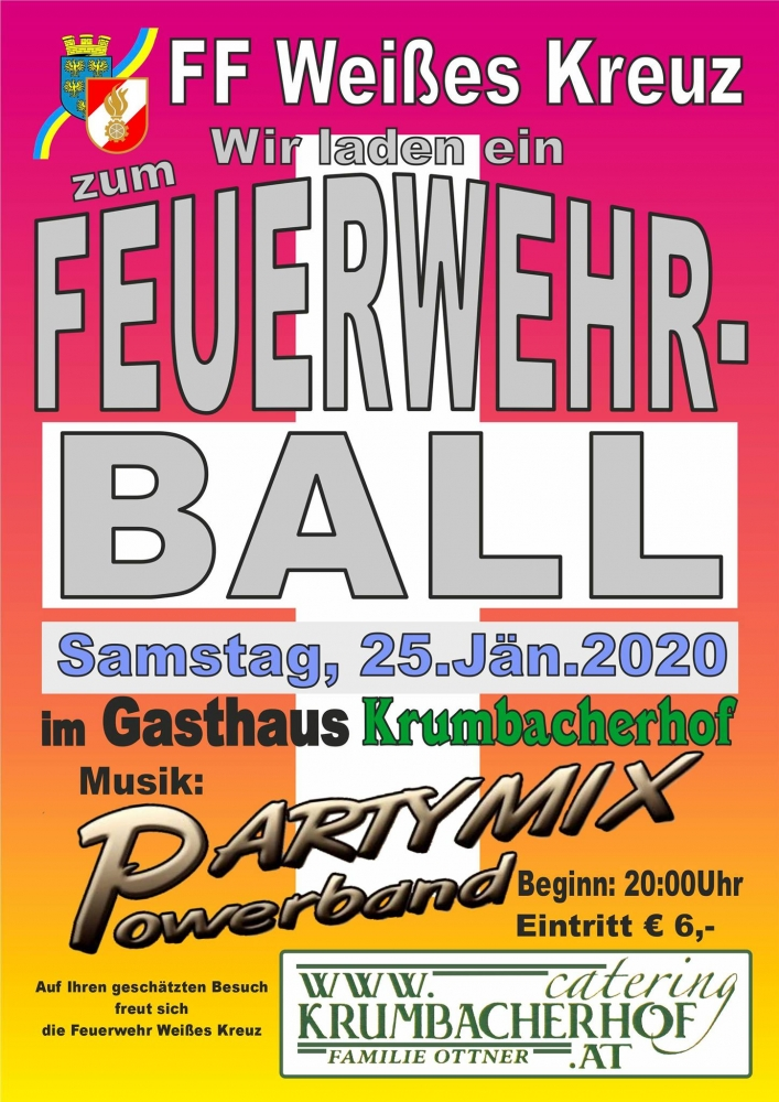 plakat ball ff weisses keuz 2020