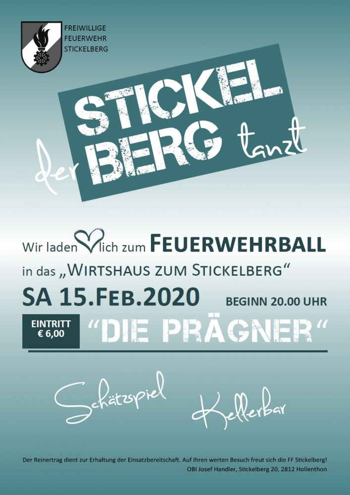 plakat ball ff stickelberg 2020